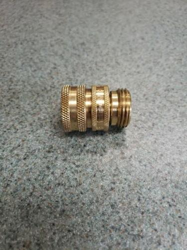 Parker Hose Quick Brass Quick Connector