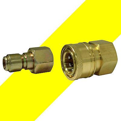 Pressure Washer Adapter Quick Disconnect Connect Socket Coupler Plug