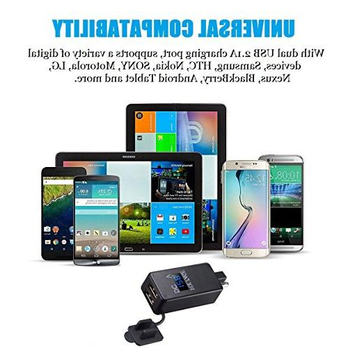 YonHan SAE To Adapter Quick with Waterproof USB Charger 2.1A &