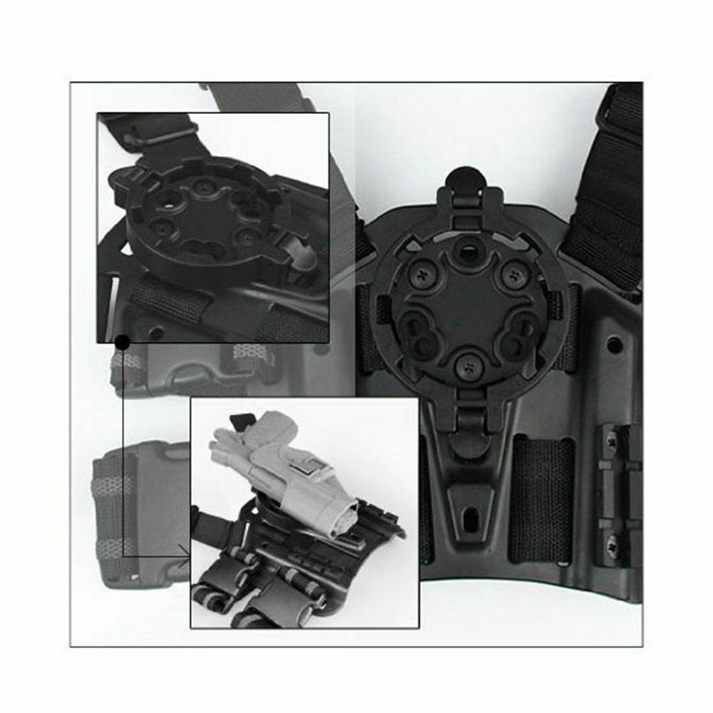 Tactical Quick Disconnect System Kit Holster Adapter 2 Male