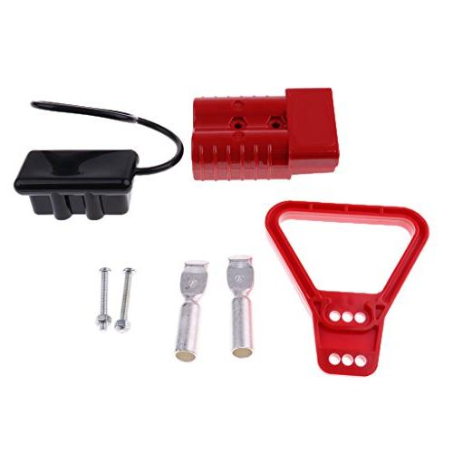 MagiDeal 2 Pieces 50Amp 600V Winch Trailer Battery Quick Connect Disconnect Plug