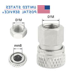 M10x1 Thread Quick Disconnect Female PCP Airsoft Fittings 8m