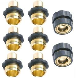 No-Leaks Pressure Washer Garden Hose Quick Connect Set, 6 Ma