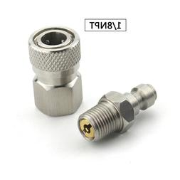 PCP Airforce Paintball 1/8NPT Male Plug Connector 8mm <font>