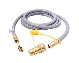 KIBOW 12Ft 1/2 Inch ID Low Pressure Natural Gas and Propane