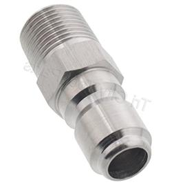 """Pressure Washer 1/4"""" Quick Coupler Disconnect Plug 1/4"""" Male"""