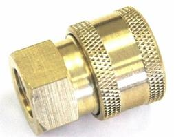 """Pressure Washer 1/4"""" Quick Coupler Disconnect Socket  1/4"""" F"""