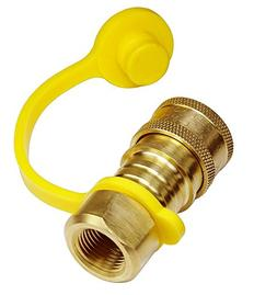 DOZYANT Propane/Natural Gas Quick-Connect Brass Fitting 3/8I