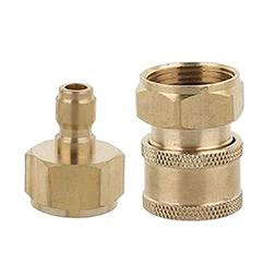 B Blesiya 2pcs Quick Release Connectors Quick Coupler M22 Ma
