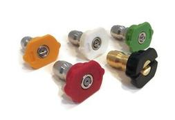 """Spray Tip Nozzle Set, 5 Piece, with 1/4"""" Quick Disconnect fo"""