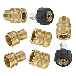 ultimate pressure washer adapter set quick disconnect