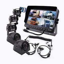 Camnex The 5th Wheel Camera Monitor System Build-in DVR Reco